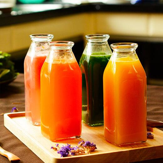 营养胡萝卜番茄汁
