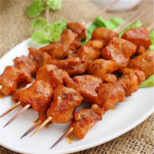 香草烤羊腩肉串