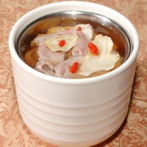 我的百合猪心汤