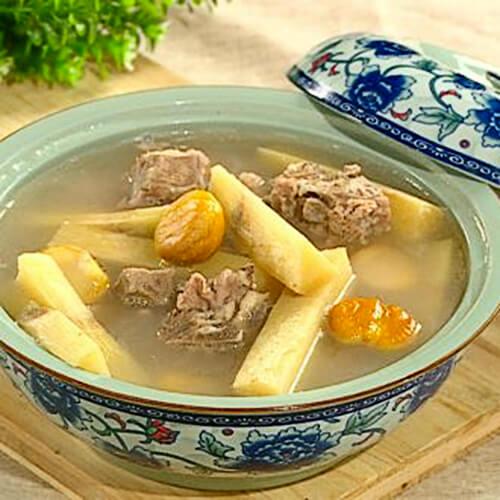 甘蔗排骨汤