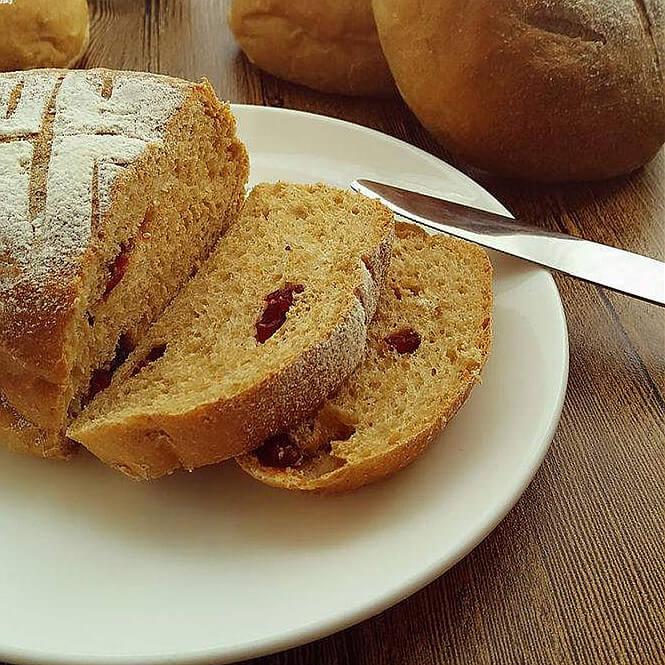 营养美味红糖酥皮养生面包