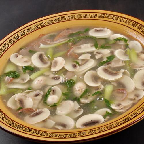 葫芦口蘑鲜味汤
