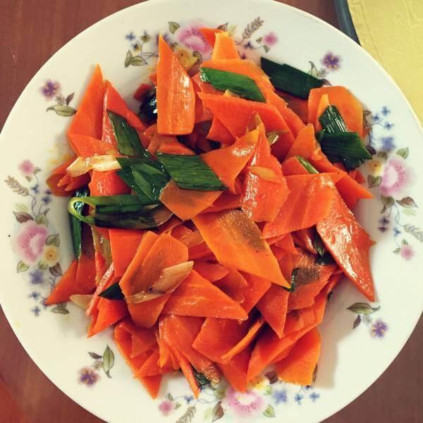 不错的炒胡萝卜