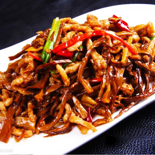 芹菜炒狗肉