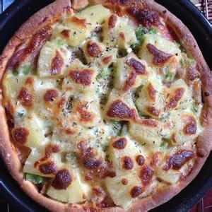 自制培根牛肉至尊披萨