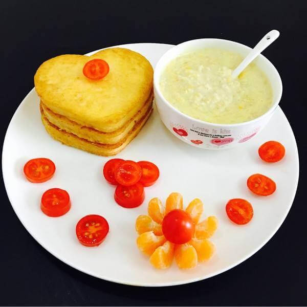 水果玉米土司卷