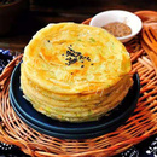 多层葱油饼