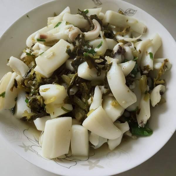 梅干菜墨鱼