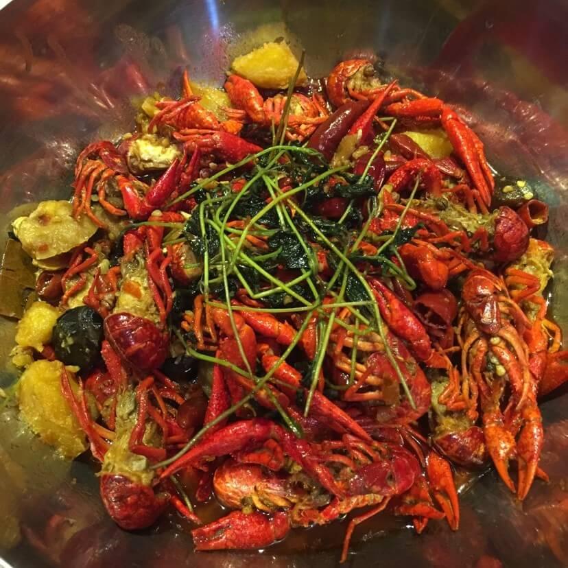 龙虾料烧土豆片