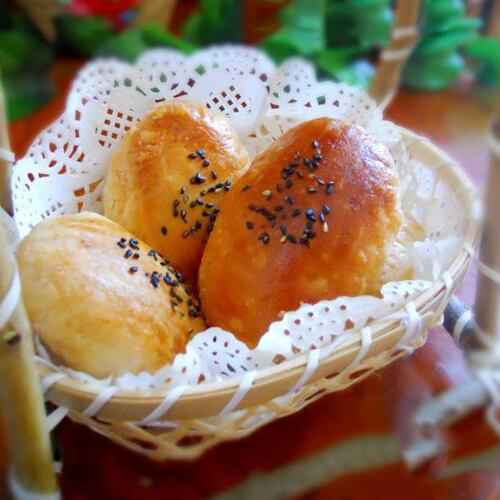 小舌头糖酥饼