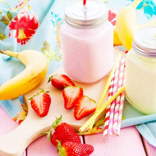 草莓香蕉冰激凌