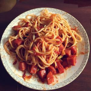 快手番茄意面
