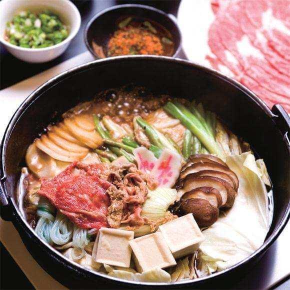 寿喜烧牛肉火锅