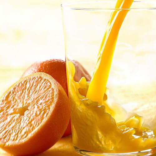 白菜橙子香蕉饮