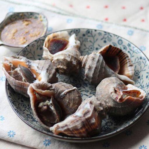 清水煮海螺