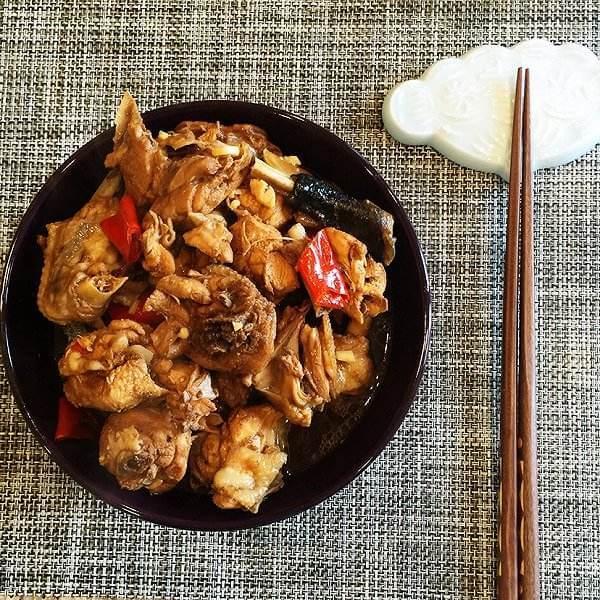 麻辣的东安仔鸡