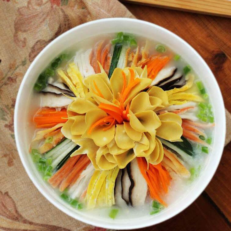 黄瓜花海参汤