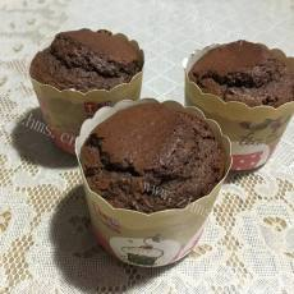 自己做的巧克力香橙蛋糕