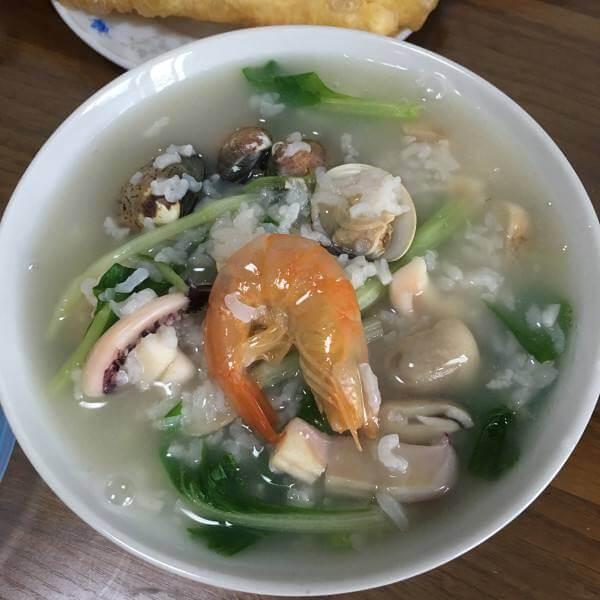 可口的台灣海鲜粥