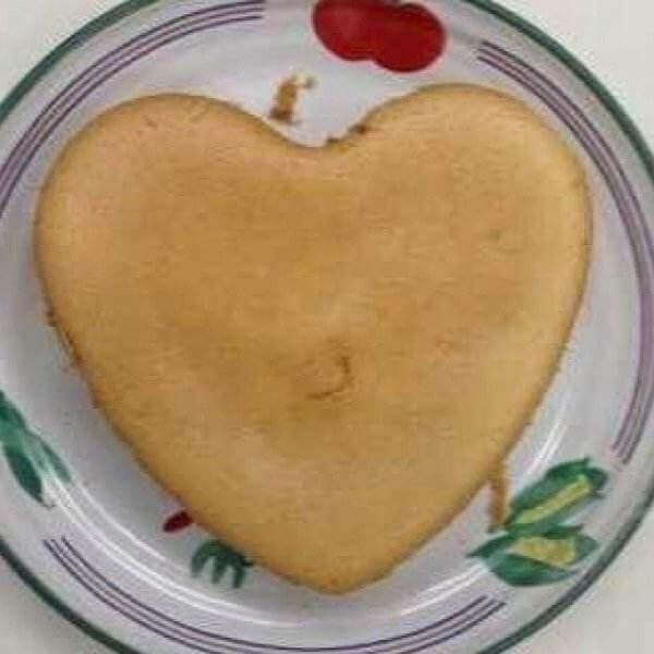 特别的爱心土豆泥蛋糕