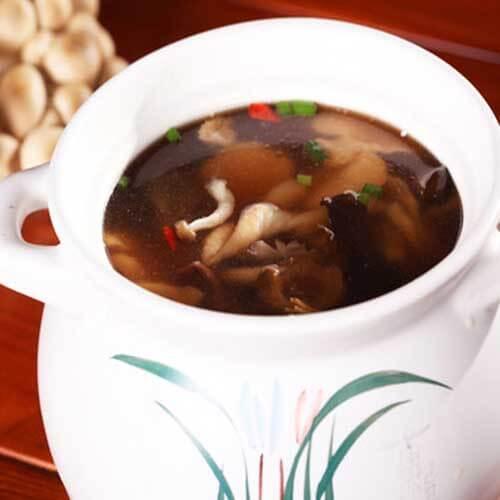 菌菇金钩汤