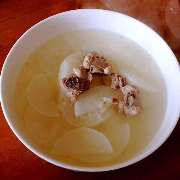 白萝卜海砺汤