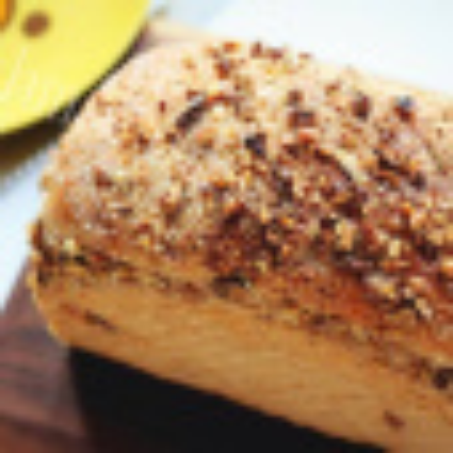 自己做的汤种核桃小面包