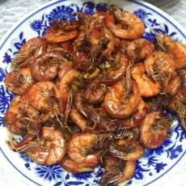 柠香干煎大虾