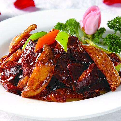 简单菜-牛肉嫩姜