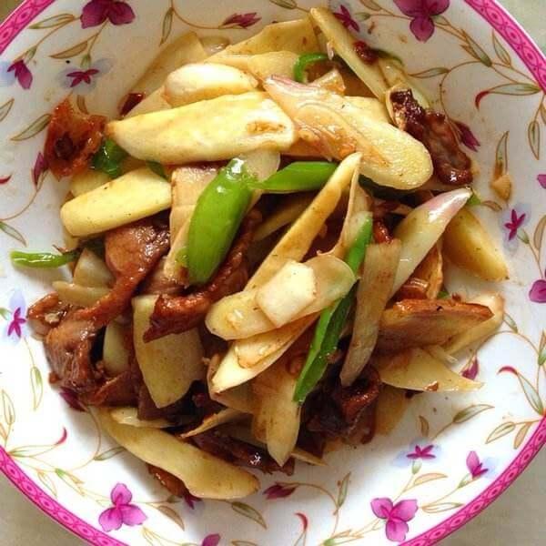美味禾笋炒肉片