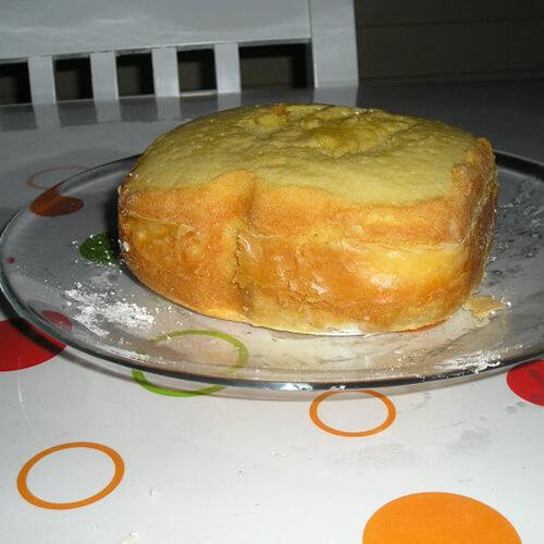 面包机烤蛋糕