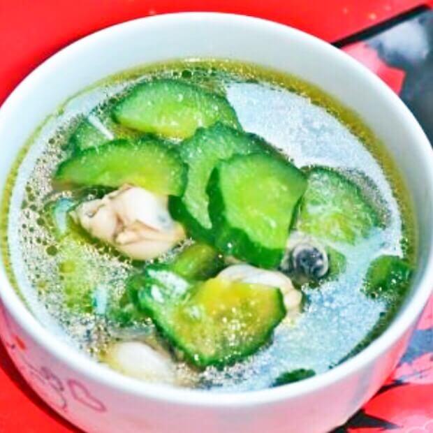 海蛎子瓜片汤