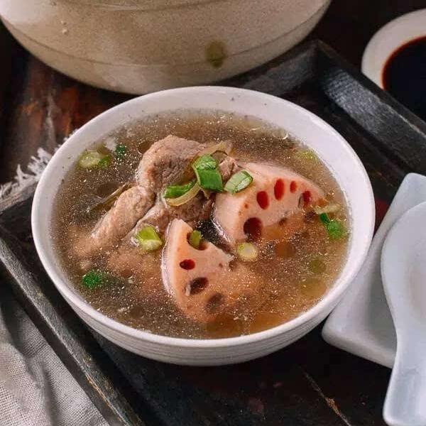 腊鸡子藕汤