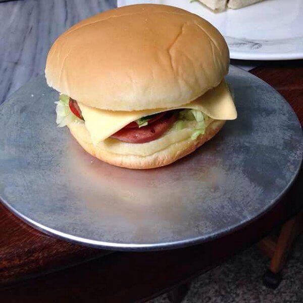 三文鱼汉堡