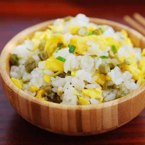 快手豉香海米蛋炒饭