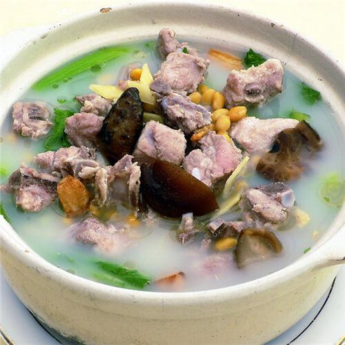 春菜猪肉汤