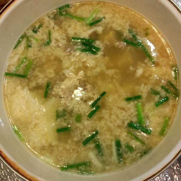 葱花鸡蛋汤