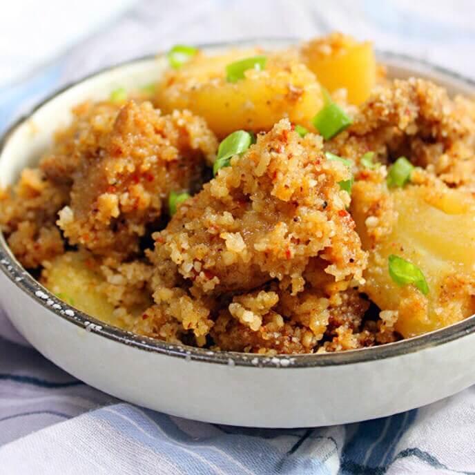 土豆粉蒸鸡