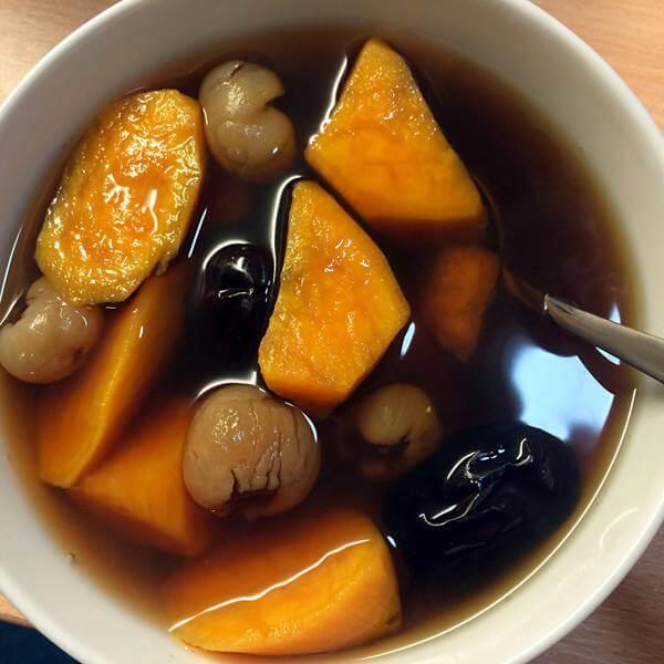 番薯红枣红糖水
