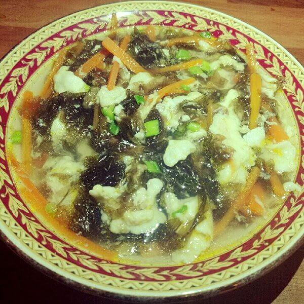 萝卜丝蛋花汤