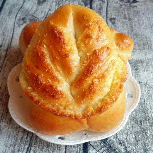 五味俱全的椰蓉面包