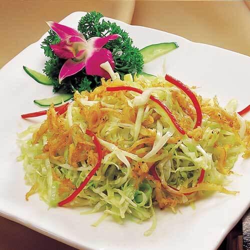 虾皮香干煨包菜