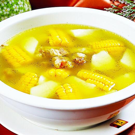 排骨南瓜玉米汤