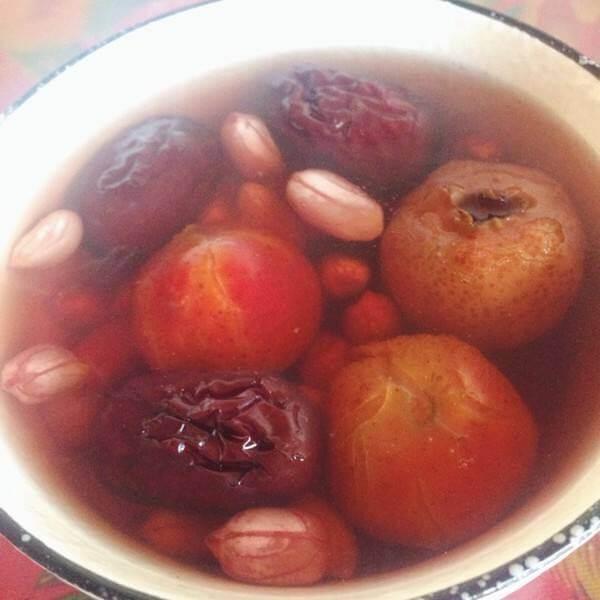 清苹果山楂汤