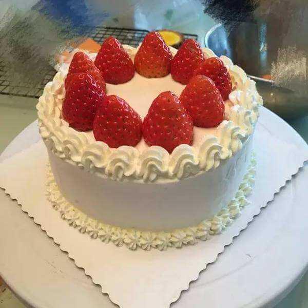 回味无穷的照片蛋糕