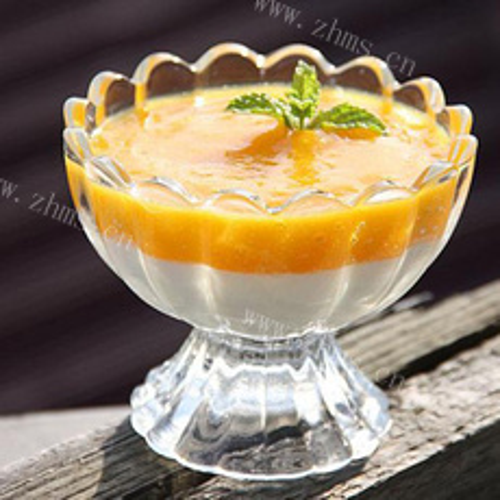 美味的芒果乳酪