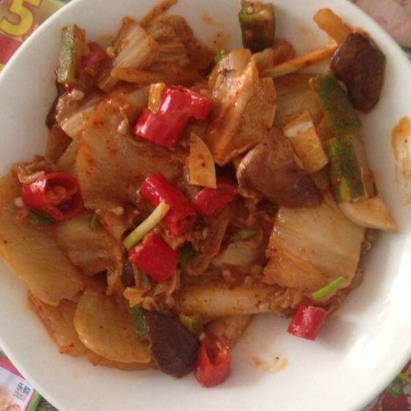 韩国泡菜土豆片