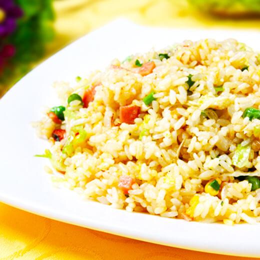 DIY美食-营养五色炒饭