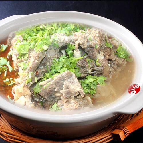 南瓜羊肉汤