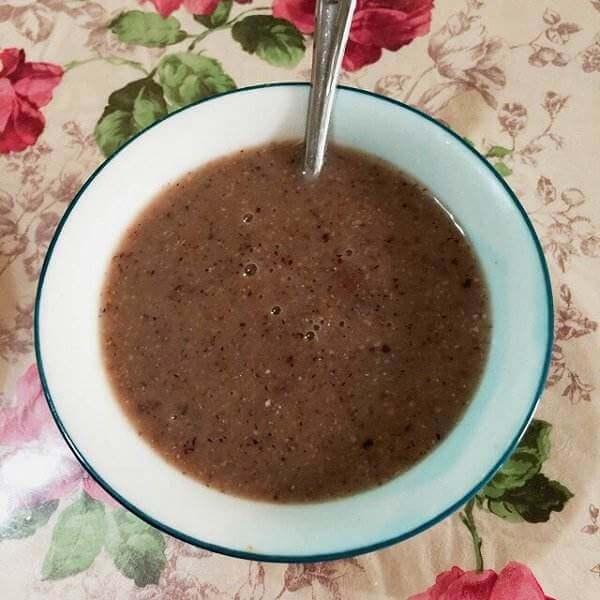 黄豆燕麦米糊